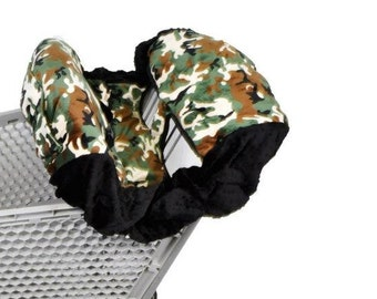 Camo, Shopping Cart Cover. Several colors to choose from