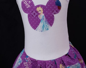 Frozen Dress, Anna Dress, Elsa Dress