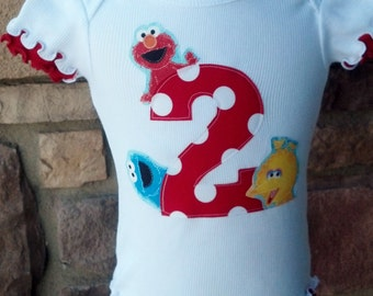 Sesame Street, Birthday Shirt.