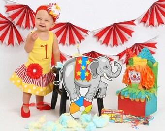 Circus Dress. Carnival Dress. Circus Party.