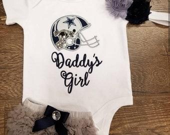 Custom Infant Gift Set. You choose favorite team. Dallas Cowboys