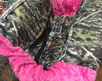True Timber, Camo, Shopping Cart Cover. Pink.