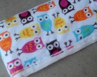 Custom Minky Burp Cloth