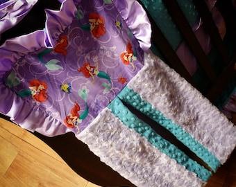 Diaper Stacker. You choose fabrics. Little Mermaid