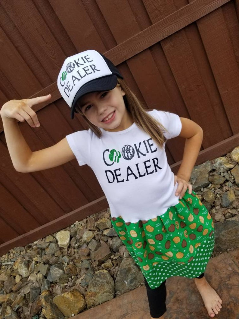 Girls Scouts. Cookie Dealer Dress Girls dress