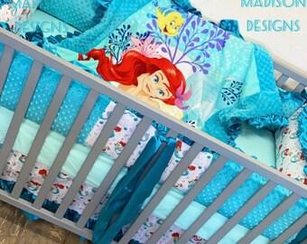 Little Mermaid Baby Bedding Ariel Baby Girl