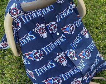 Titans car seat canopy tent. Titans canopy tent. Titans car seat cover.