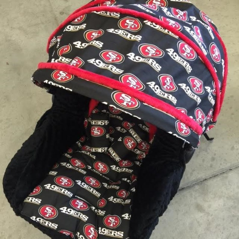 bab90c41d29 San Francisco 49ers Infant Car Seat Replacement Cover.