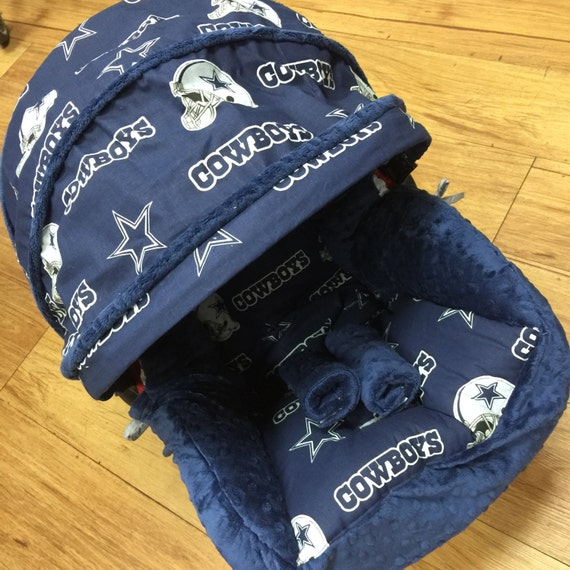 Dallas Cowboys Infant Car Seat Replacement Cover You Choose