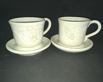 Cup and Saucer Set