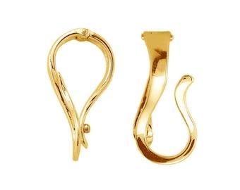 14K Gold Pendant Hanger Enhancer / Interchangeable Enhancer