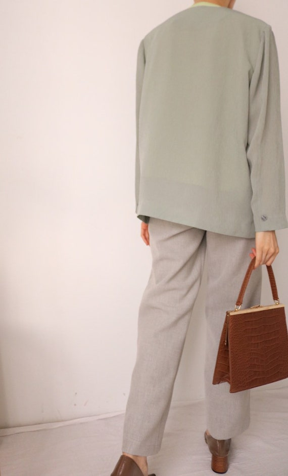 Aretha Summer Suit Jacket (Japanese Vintage) - image 9