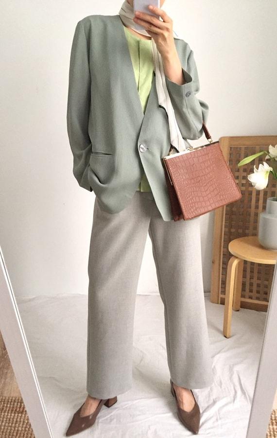 Aretha Summer Suit Jacket (Japanese Vintage) - image 2