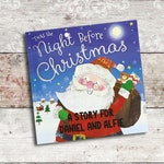 Personalised childrens Xmas Eve book - Twas the night before Christmas