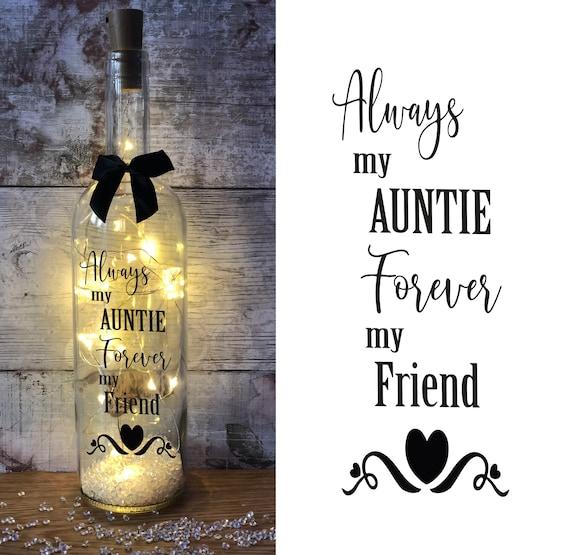 Mijn tante is mijn beste verjaardagscadeau