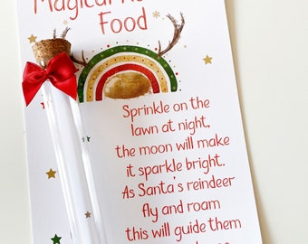Magic Reindeer Food * Christmas Eve Box Filler * Xmas Traditions * EMPTY TUBE Fill your own!!