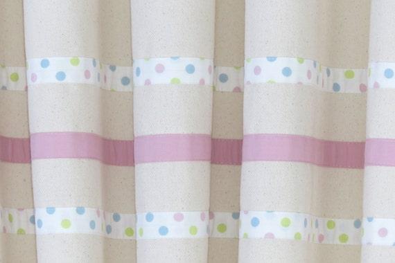 Baby Mädchen Kinderzimmer Gardinen, rosa Mädchen Vorhänge, Bio-Baumwolle  Vorhänge, Blackout Vorhänge Baby-Raum, Mädchen Schlafzimmer Vorhänge. ...