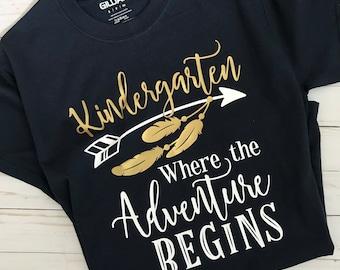 Kindergarten Tshirts Etsy