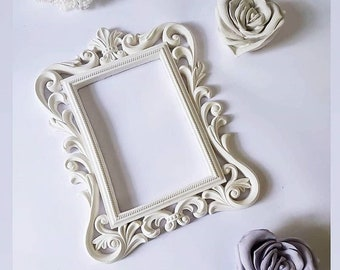 Frame silicone mould