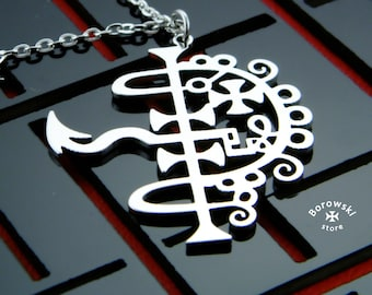 Asmodeus Sigil pendant-Goetia Asmodeusl-Demon Sign-Demonic Symbol-Seal Sigil of Goetia-Asmodeus Sigil necklace-Asmodeus-asmodeus necklace
