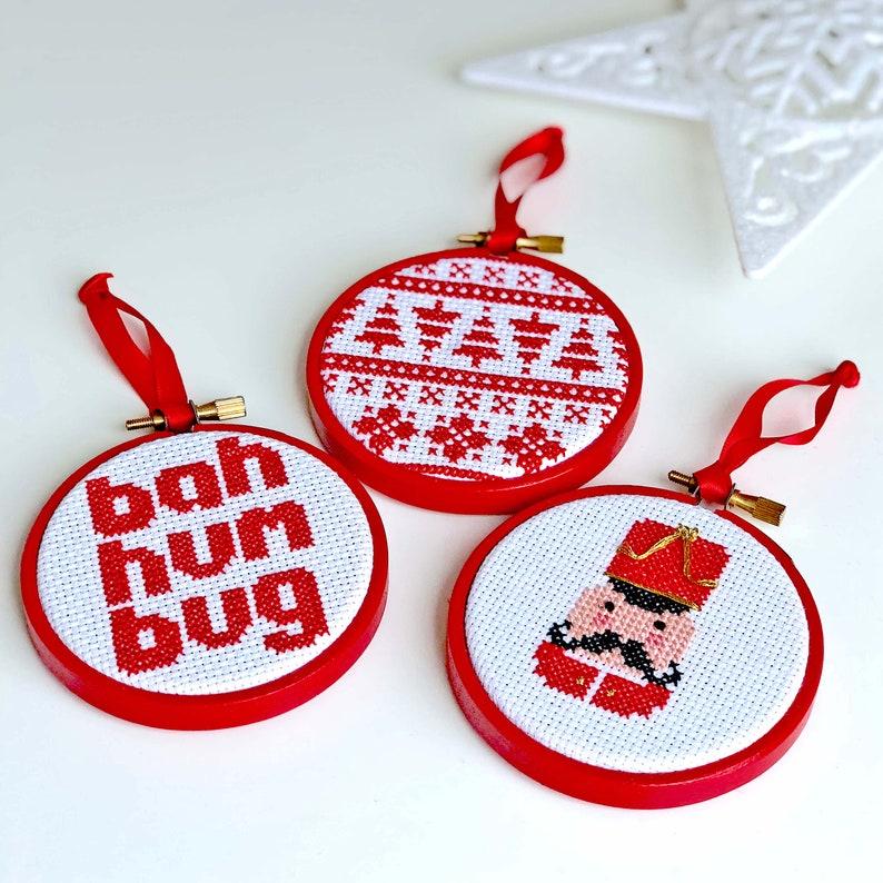 Christmas Festive cross stitch Kit