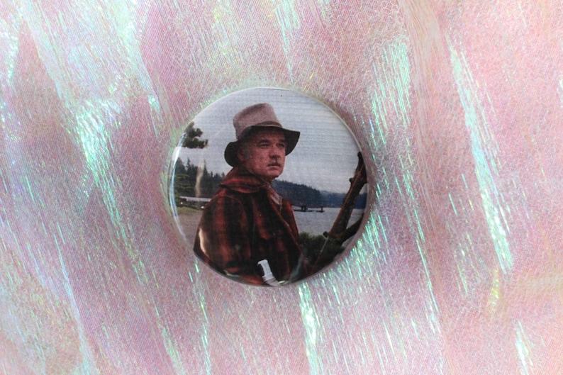 2.25 Pin Back Button Twin Peaks Pete Martell
