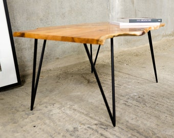 TAXUS | Yew Coffee Table | Needle Point Hairpin Legs