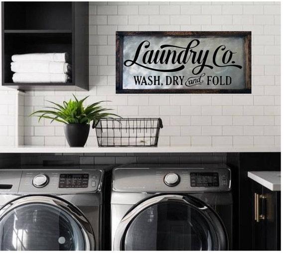 Laundry Room Sign Laundry Sign Laundry Room Decor Laundry ... on Laundry Decoration  id=69962