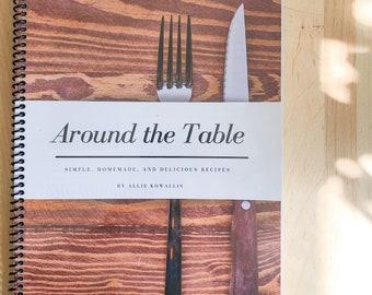 Around the Table cookbook Hard Copy