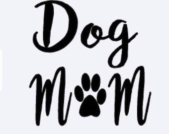 Dog Decal, Iron On Monogram, Dog Mom Iron On Vinyl, Frenchie Decal, Iron On Decal, Iron On Vinyl, 72 Iron On Vinyl Colors