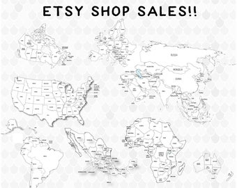 Coloring world map etsy coloring pages coloring world map etsy sellers etsy sales teacher gumiabroncs Gallery