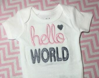 Hello World Onesie