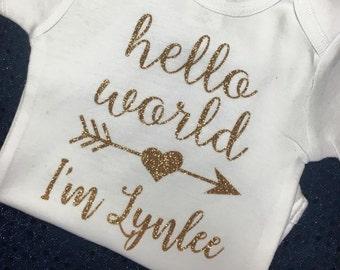Hello World I'm... Onesie
