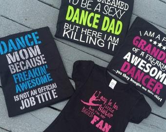Dance family shirts
