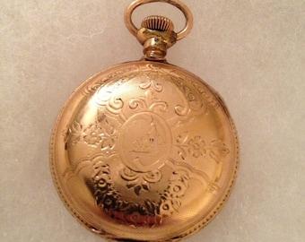 Ladies Antique Vintage Hampden Lapel Watch