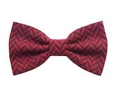 Burgundy Bow ties for men's,tweed bordeaux and black,gift for men's,gift idea for groomsmen,tie for groom inspiration wedding burgundy theme