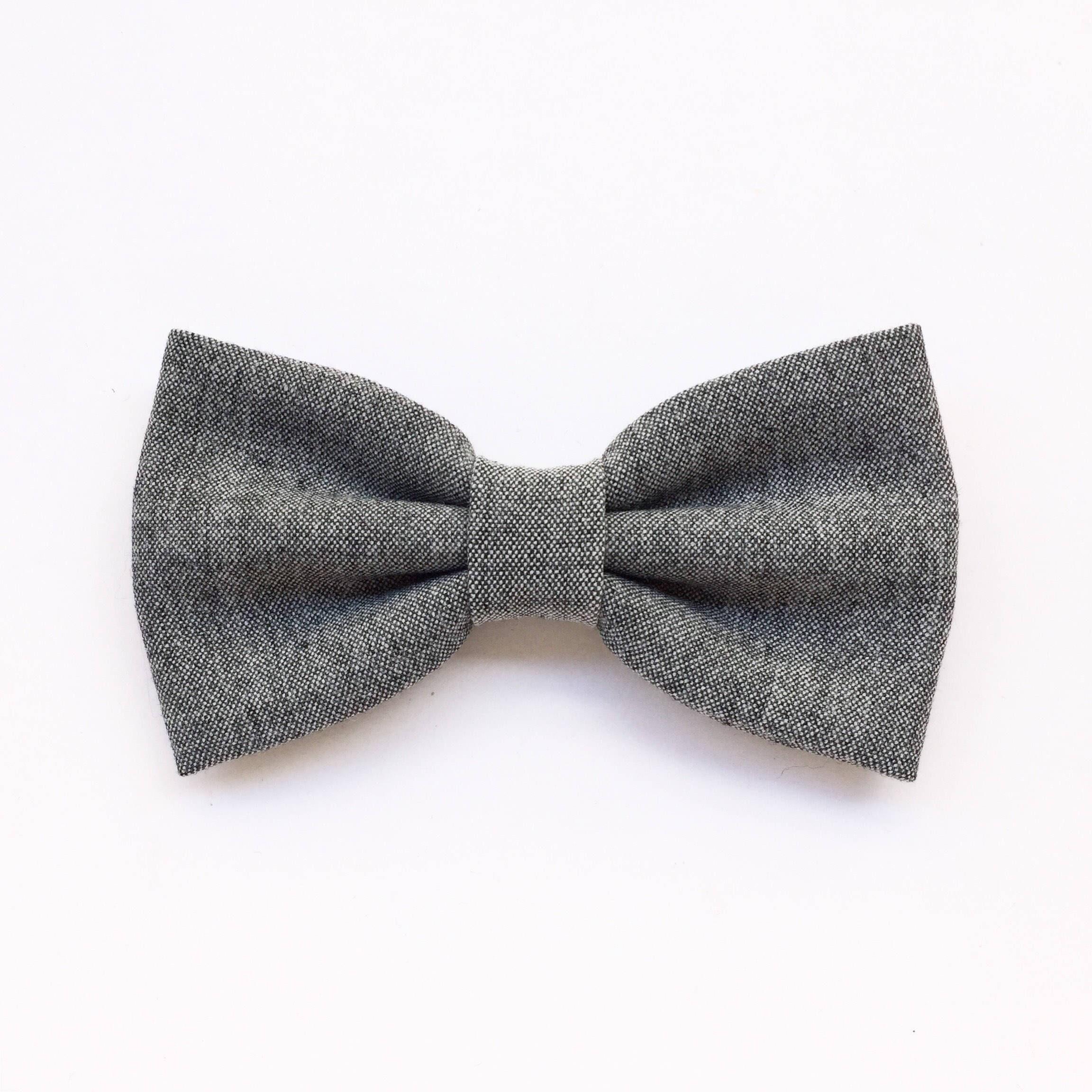 Regalo Matrimonio Uomo : Papillon grigio chiaro per uomo farfallino sposo