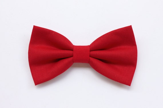 Red Bow Tie For Mendeep Red Tiered Necktiebow Tie For Etsy