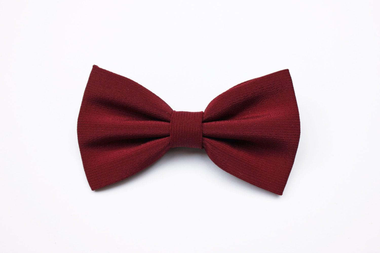 Bow ties for mens Marsala Bordeaux Red marsala Burgundy   Etsy