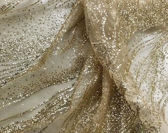 Gold glitter fabric  da8c48f6cc25