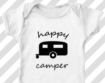 d7ed5d07e31e Happy camper onesie