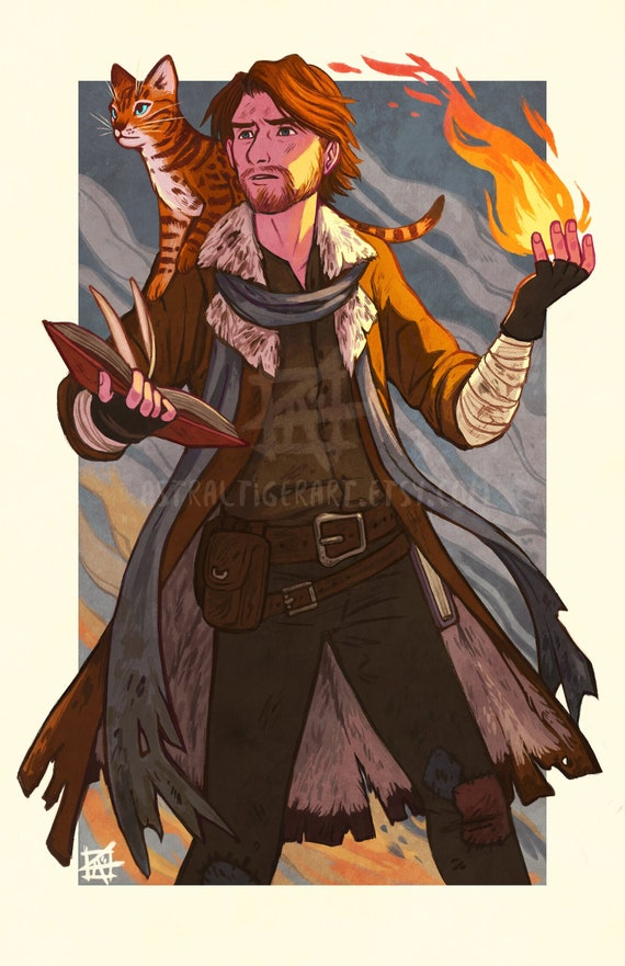 Caleb Widogast Print Critical Role Fan Art Etsy Critical role is geek & sundry's live dungeons & dragons show, featuring dungeon master matthew mercer and his troupe of fellow voice actors. caleb widogast print critical role fan art