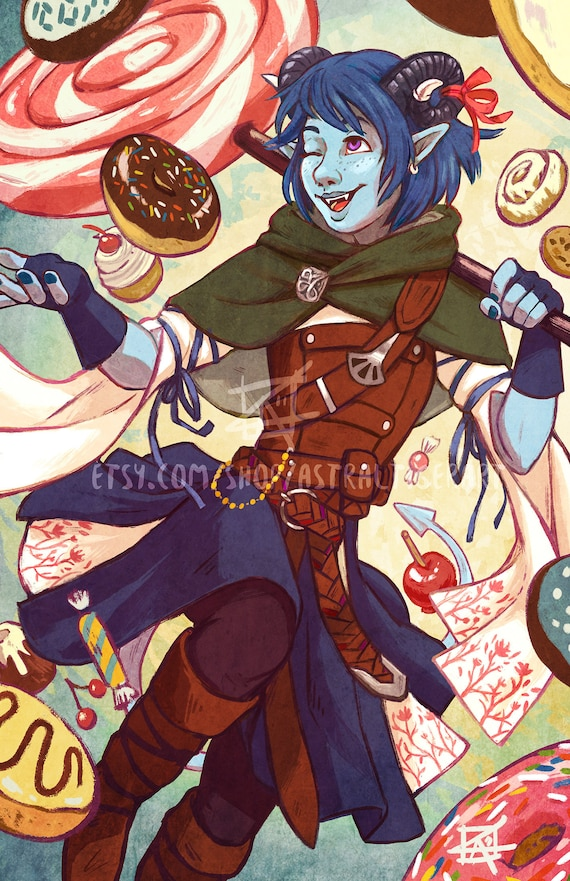 16 Criticalrolefanart Hashtag On Twitter: Jester 11x17 Print Critical Role Fan Art
