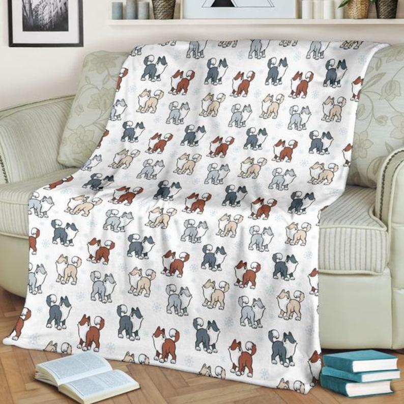Fantastic Snow Dogs Husky Premium Soft Blanket Cjindustries Chair Design For Home Cjindustriesco