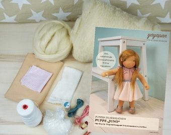 2-in-1: Ebook Puppe Juno  & Material-Paket