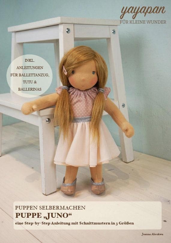 Ebook Puppe Juno Diy Anleitung Etsy