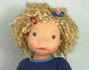"Articulated waldorf doll *Momo* 20"""