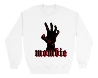 Mombie Halloween Sweatshirt scary sweatshirt zombie mom costume clothing