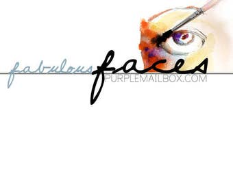 Fabulous Faces - Online Art Journaling Class - Digital Download - Instant Access