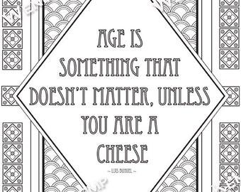 Age Doesnt Matter Etsy
